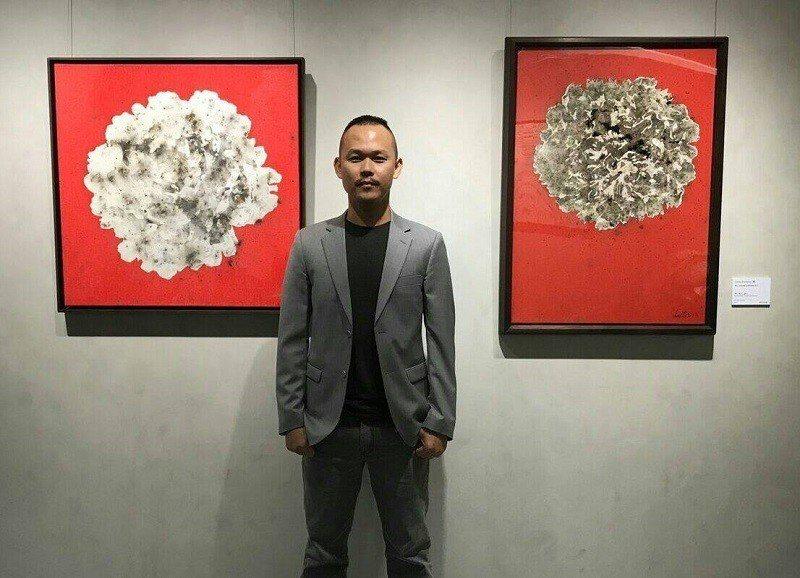 1982年出生於高雄的新生代爆竹爆破藝術家雷悌。 藝站 Yizhan/提供