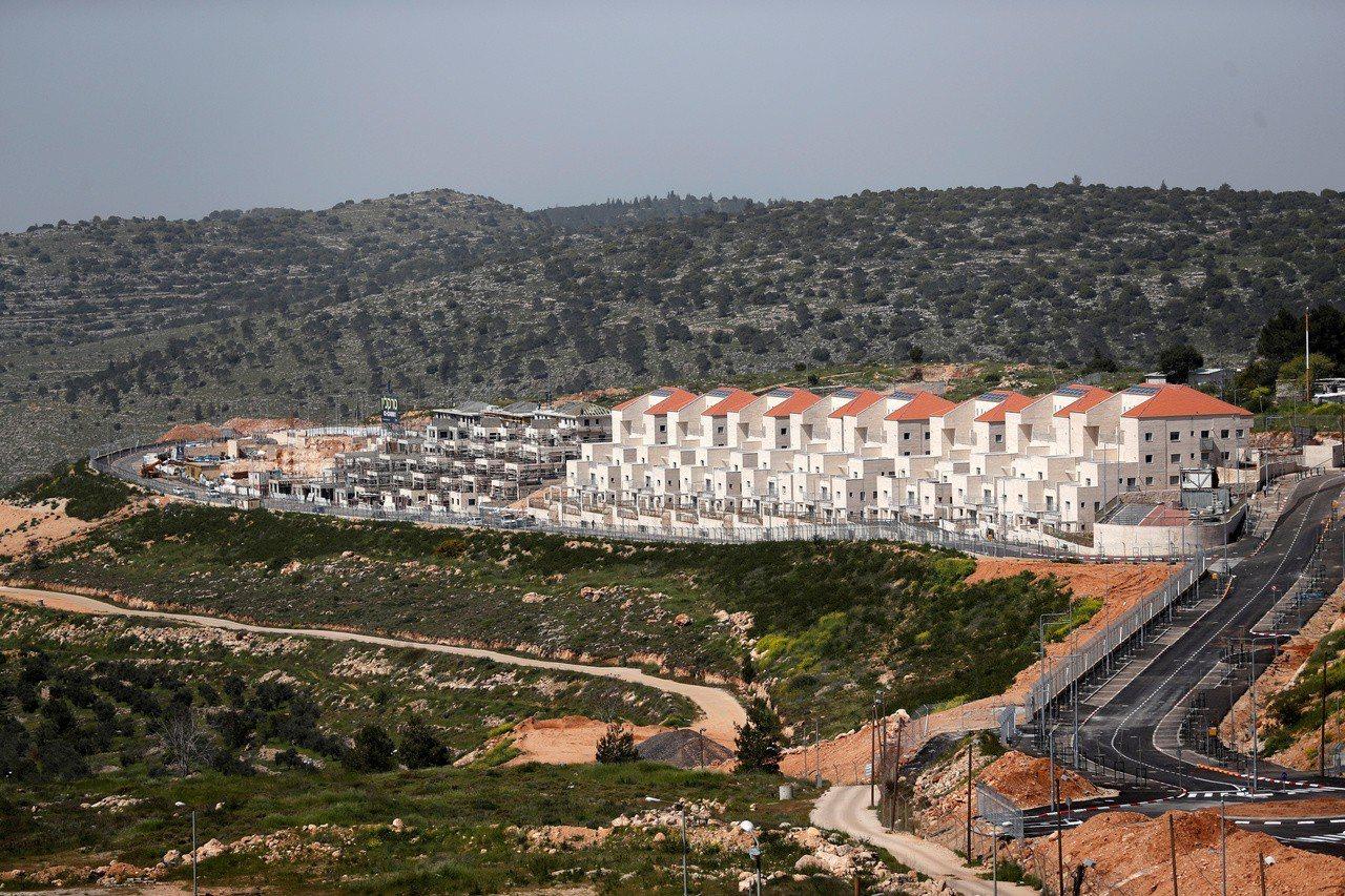 美國駐以色列大使佛里曼表示,以色列有權利兼併至少「部分」的約旦河西岸占領區土地,...