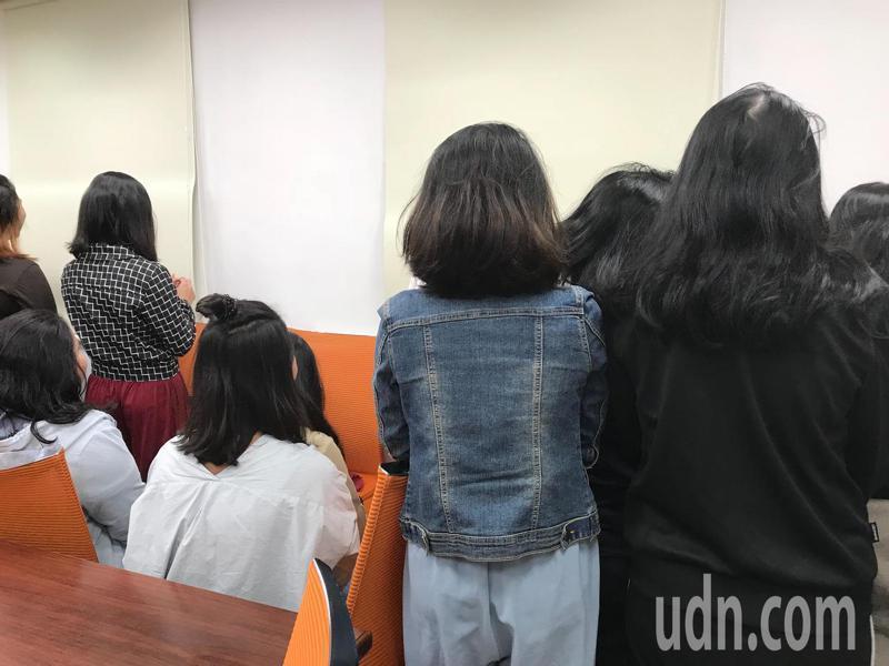 圖為今年初引發學工爭議的某科大新南向資訊管理專班的印尼籍學生。本報資料照片
