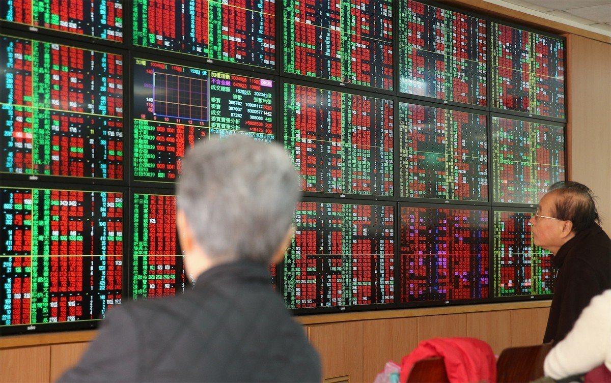 台股終場大盤收10,524.67點,跌36.34點。聯合報系資料照