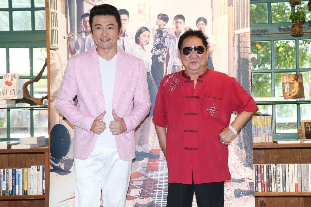 馬如龍(右)曾替李㼈解圍。圖/多曼尼提供