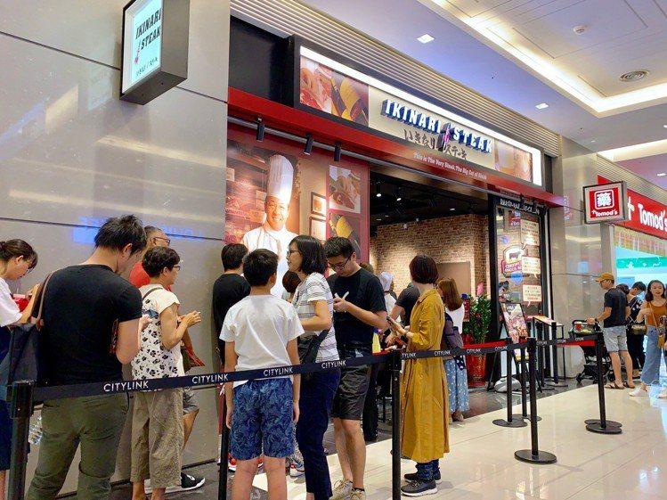 IKINARI STEAK台灣一號店。記者張芳瑜/攝影