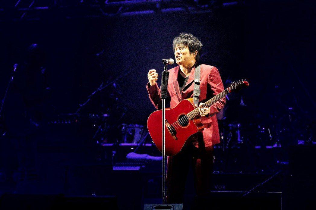 ASKA為台北調整演出曲目。記者林伯東/攝影