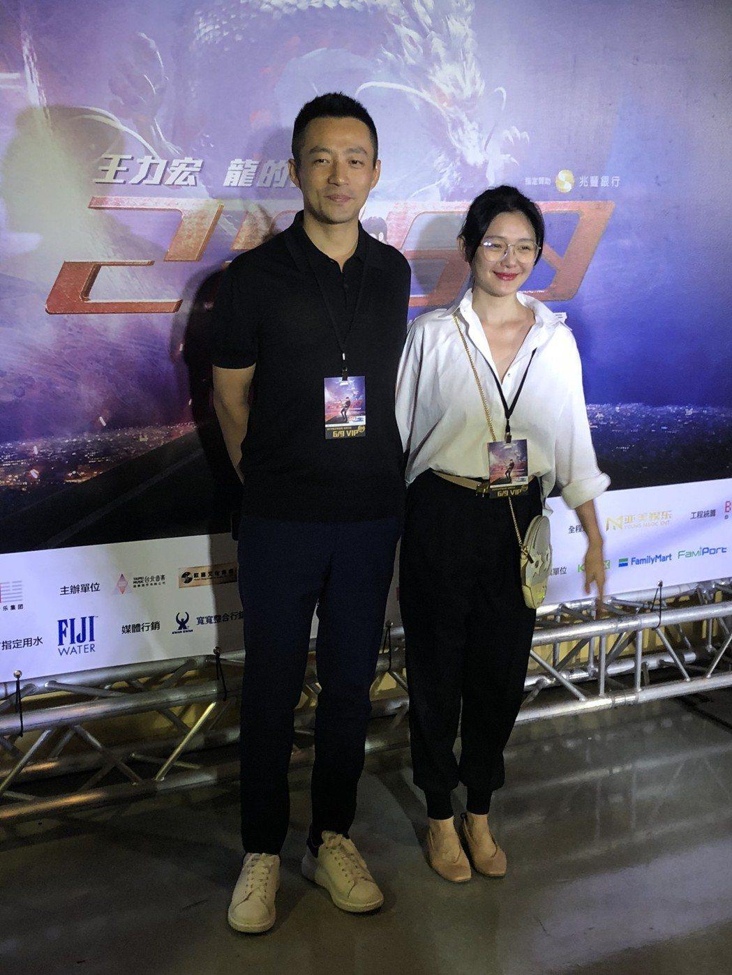 汪小菲(左)、大S夫婦。記者林士傑/攝影