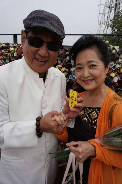 馬如龍生錢與老婆沛小嵐十分恩愛,如今天人永隔。圖/摘自臉書