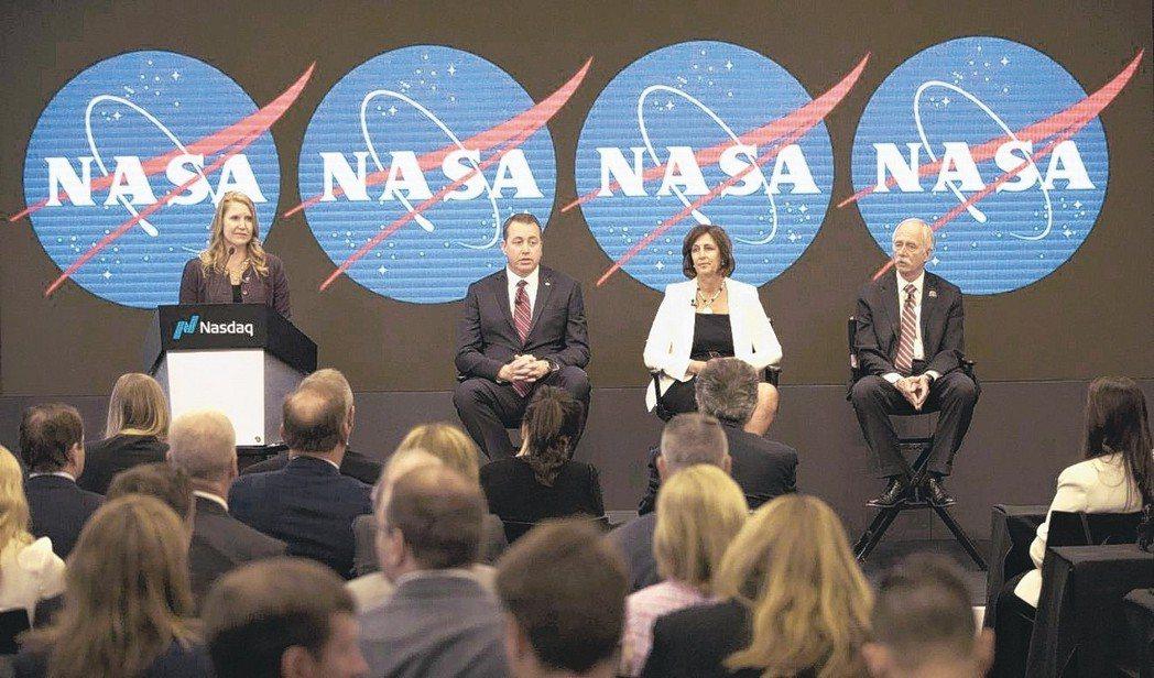 美國太空總署最快2020年對觀光客及企業開放國際太空站。 美聯社