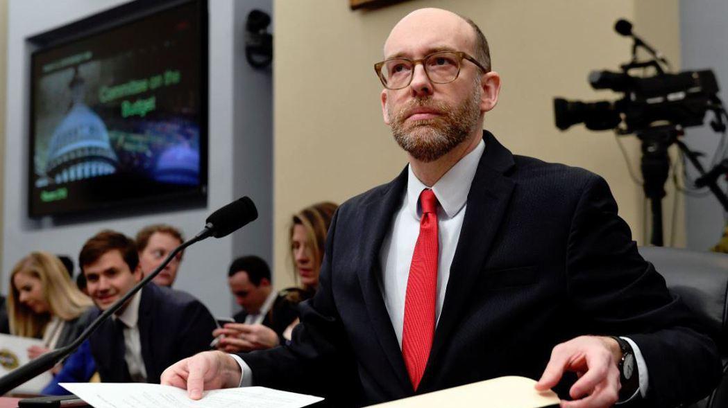 白宮管理與預算辦公室代理主任Russell Vought。   (美聯社)