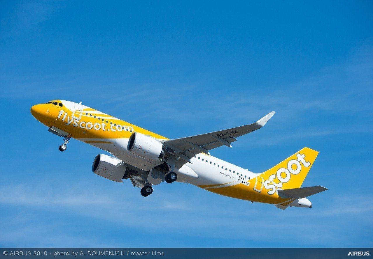 酷航又推出機票優惠。聯合報系資料照