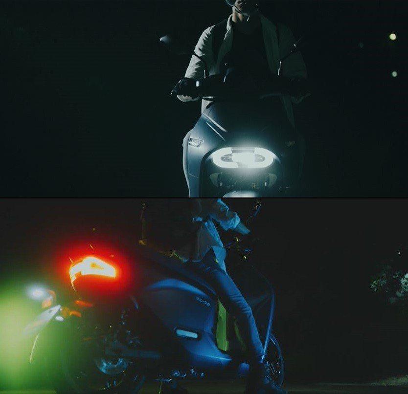 YAMAHA EC-05採用LED頭尾燈組。 台灣山葉提供