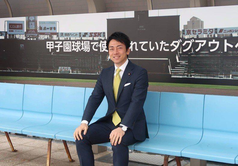 日本眾議員小泉進次郎。圖擷自小泉進次郎臉書