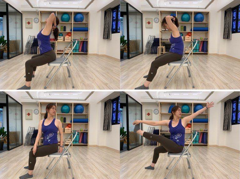 禪柔運動包含了脊椎多面向的活動 圖片提供/好痛痛
