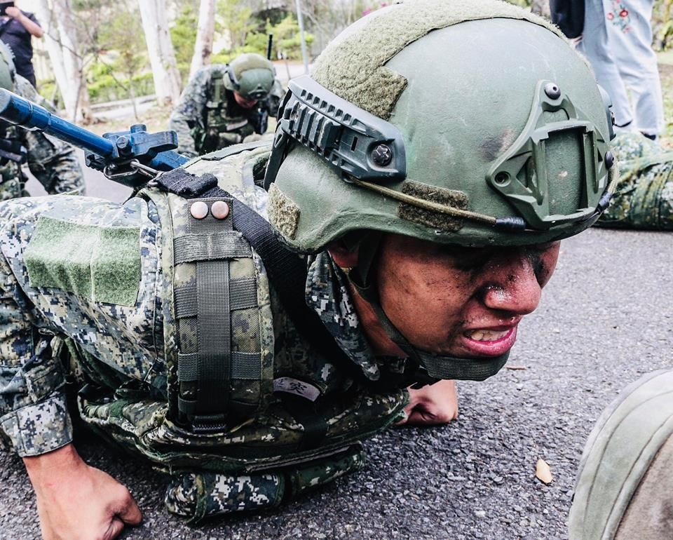 為解決基層部隊軍官荒,國防部開放現役士官參加十周短期訓練即可轉任軍官。圖為示意。...
