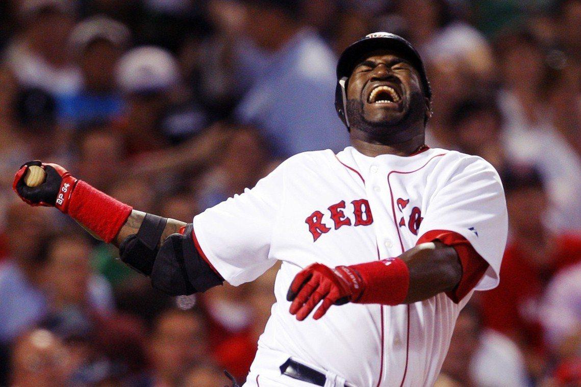"""退休名將、波士頓紅襪隊的傳奇打者——「老爹」歐提茲(""""Big Papi"""" Dav..."""