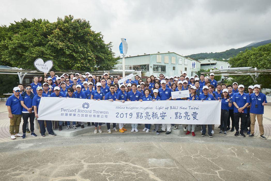 保樂力加全台北中南員工大動員,一同響應聯合國永續發展目標SDGs第12條「促進綠...
