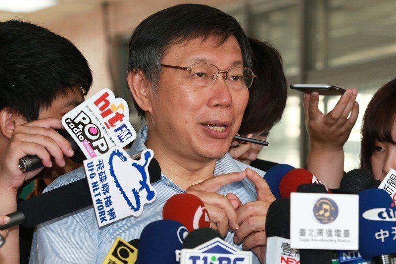 台北市長柯文哲直言應該檢討大安高工98%學生都升學的現象,導致營造業缺工連連。 圖/聯合報系資料照