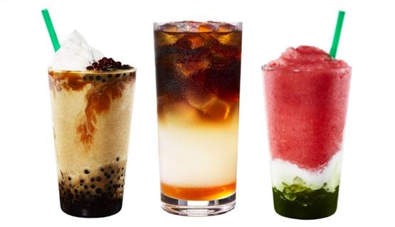 星巴克星冰樂系列全新口味12日上市。 圖/星巴克提供