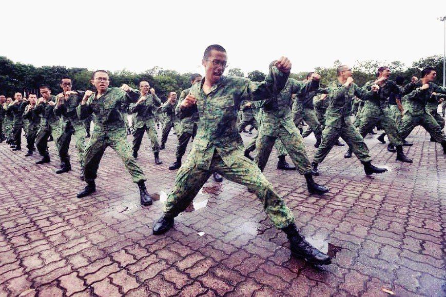 透過以色列的指導,新加坡建立了義務兵役(原則為2年)和職業軍隊,每個完成正規兵役...