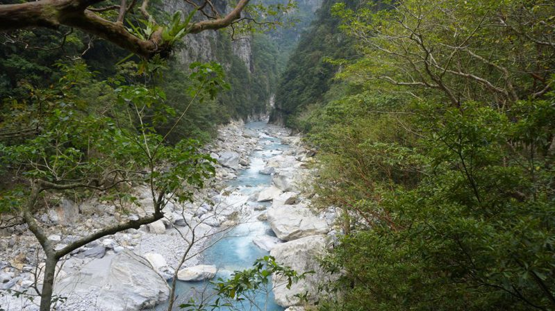 ▲花蓮秘境一日遊推薦景點-太魯閣峽谷。(圖/Tripbaa趣吧!亞洲自由行專家)