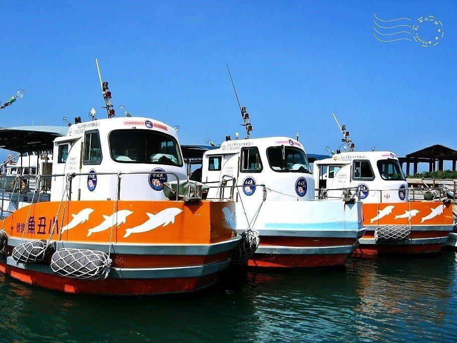 北海遊客中心搭遊艇