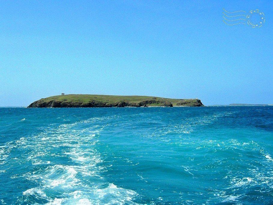 澎湖白沙鄉的離島-員貝嶼。