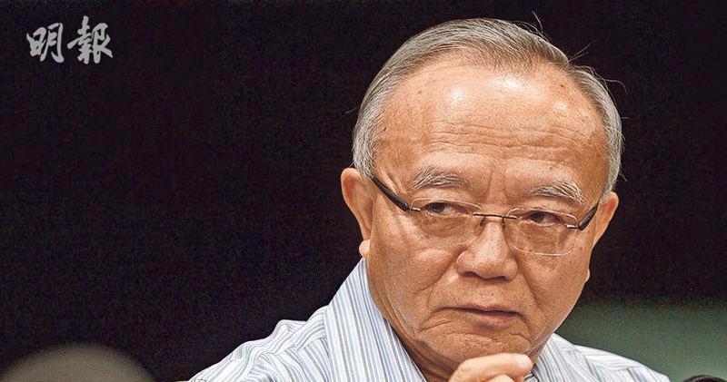 劉兆佳認為遊行有外力因素,讓北京更警惕、不讓步。香港明報