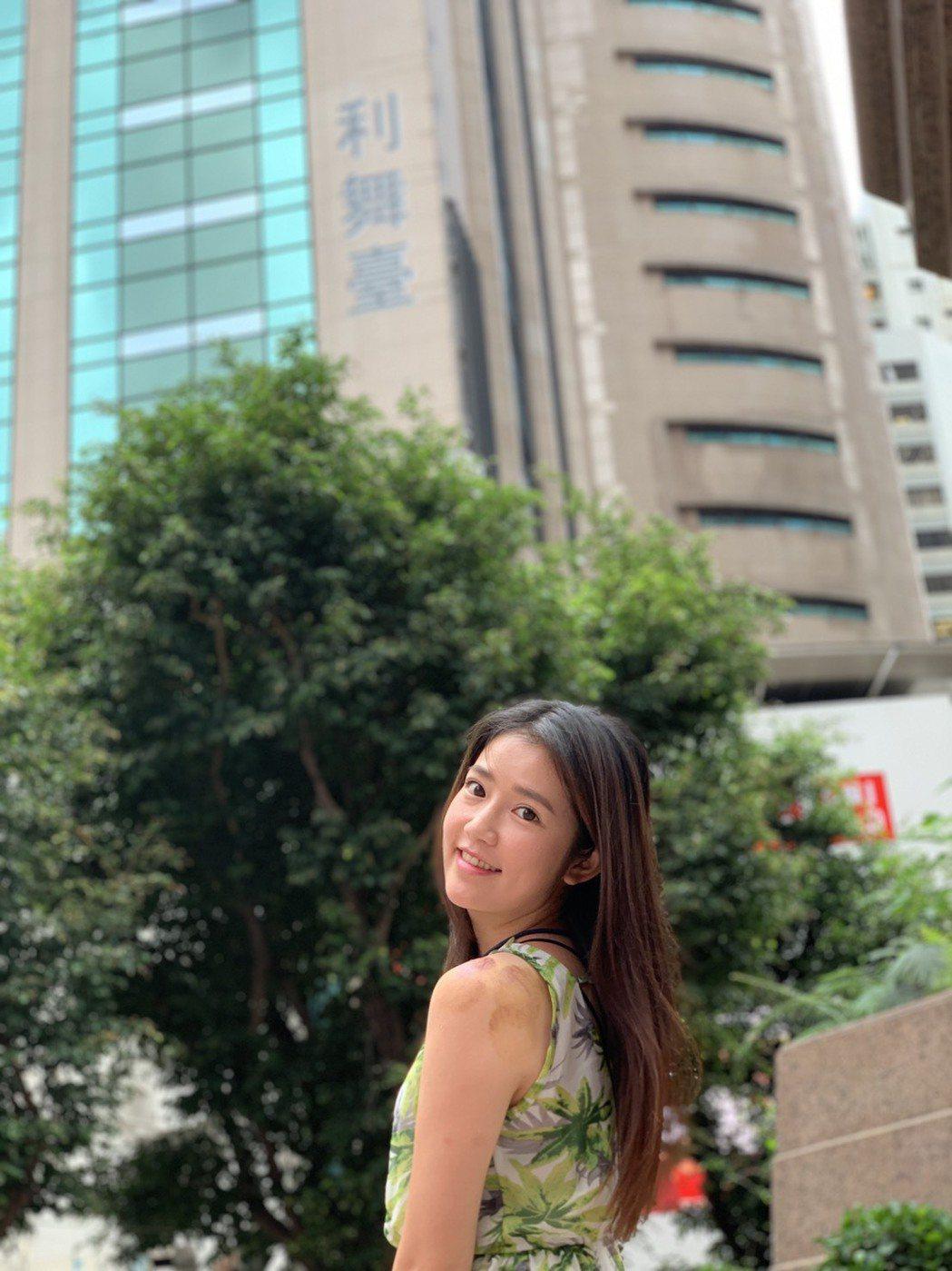 郭亞棠趁空到香港旅遊。圖/民視提供