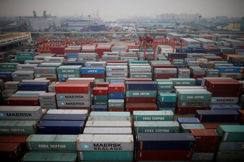 南韓仁川貨櫃碼頭。  路透