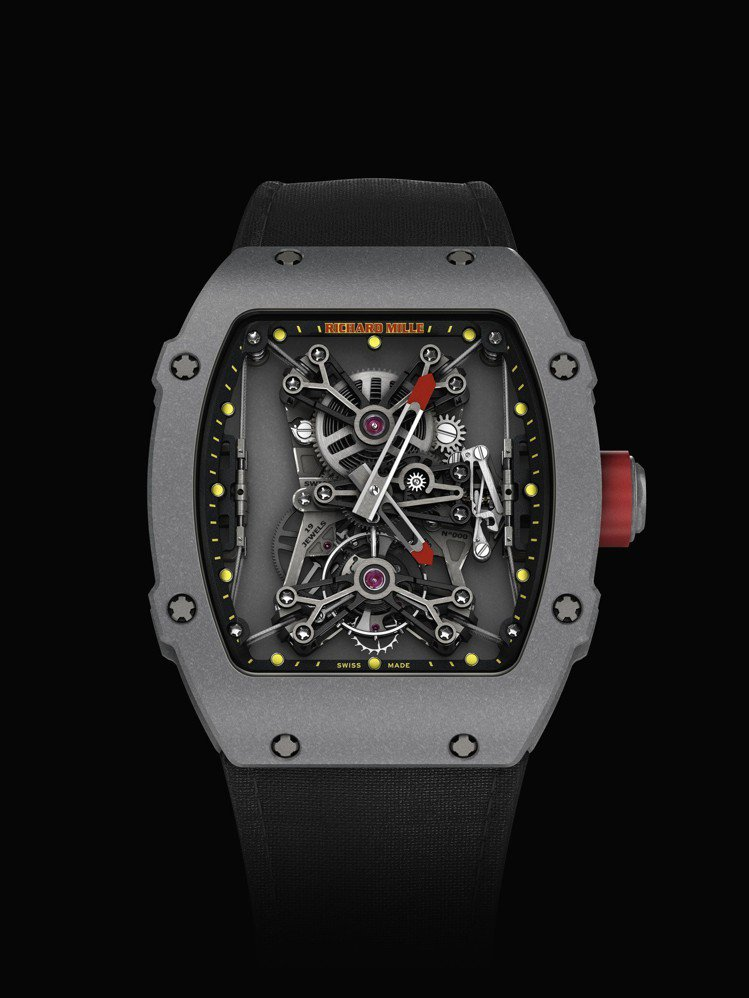 RM 27-01 Rafael Nadal陀飛輪腕表,奈米碳管材質表殼,約2,4...