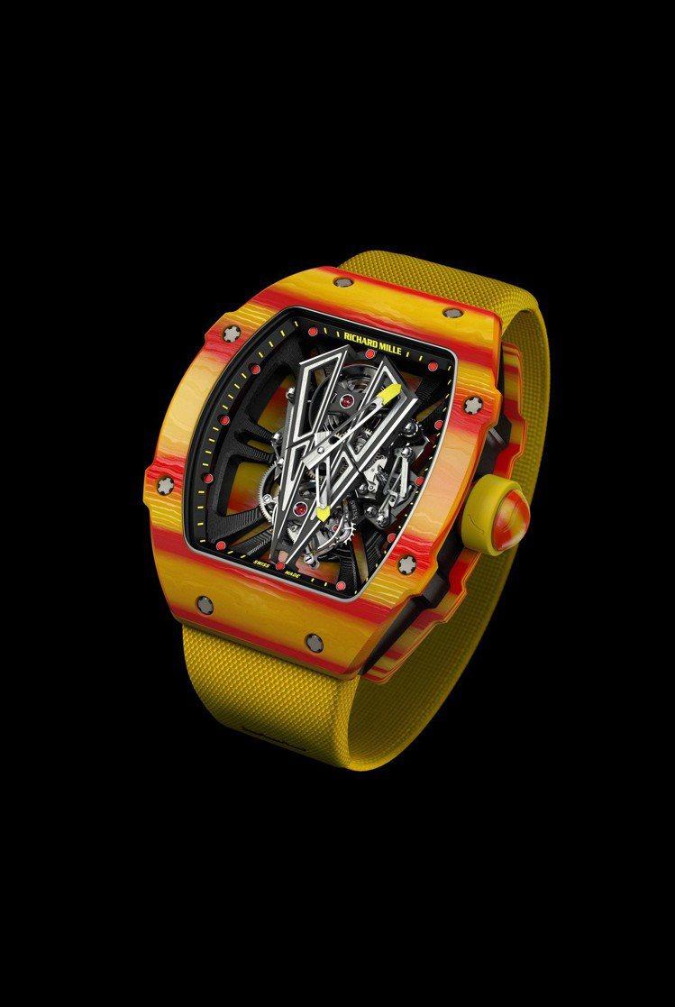 RM 27-03 Rafael Nadal陀飛輪腕表,碳纖維材料結合TPT®石英...