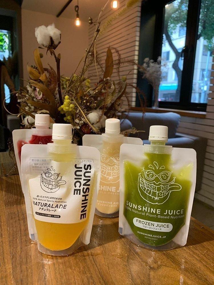 日系最強果汁海外首賣登台。圖/Sunshine Juice提供