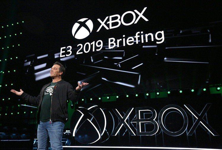 Xbox部門負責人Phil Spencer於Xbox E3發表近期計畫。圖/台灣...