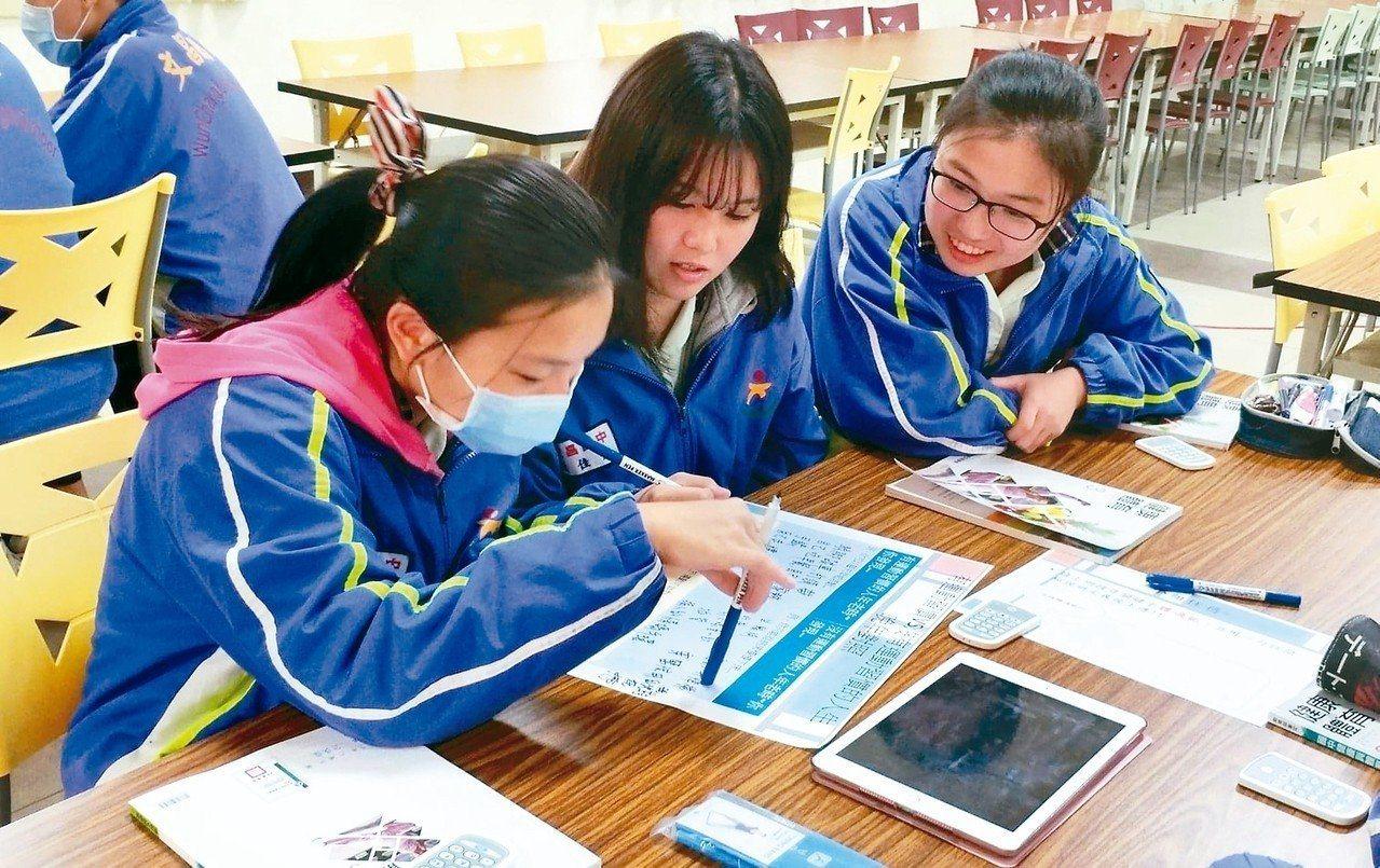 今年國中會考數學科,兩題非選擇題都各有約六萬多卷拿零分,占比約三成。圖非當事人。...