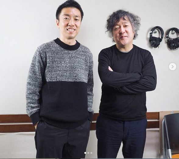 日籍知名攝影師石川直樹(Naoki Ishikawa),圖片左邊。圖擷自@str...