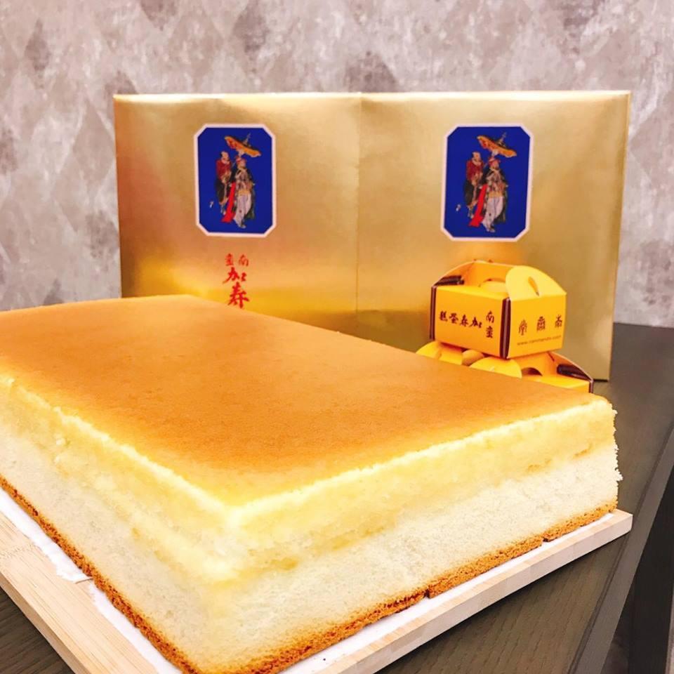 圖擷自南蠻堂加壽蛋糕