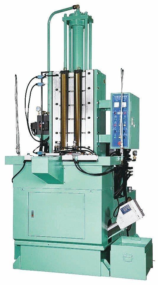 璨鑫機械專業研製各式精密油壓立式拉床。 璨鑫機械/提供