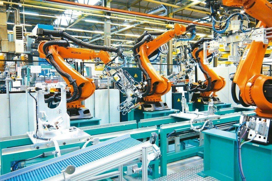 智慧機械及無人化工廠引爆工業4.0趨勢新熱潮。 igus易格斯/提供
