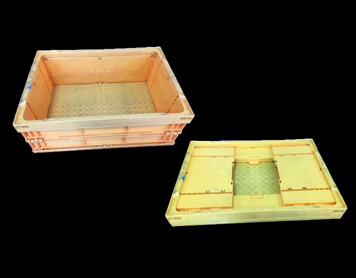 千易最新PP環保材質儲運箱。 業者/提供