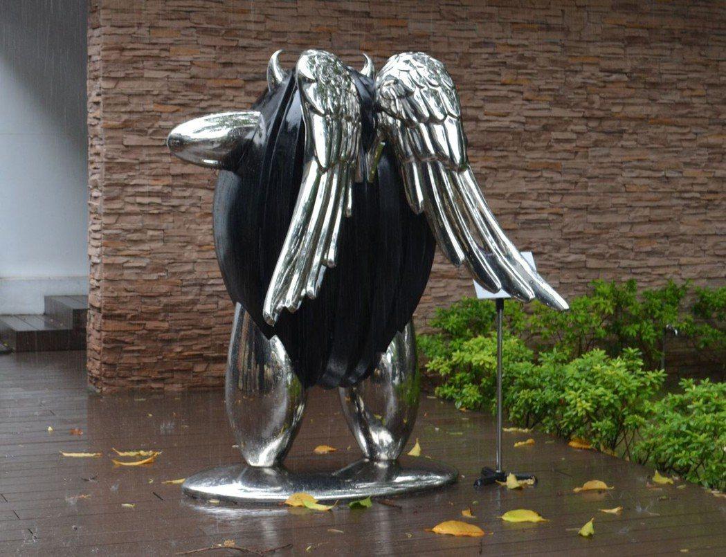 「米寶天使」作品。 陳慧明 攝影