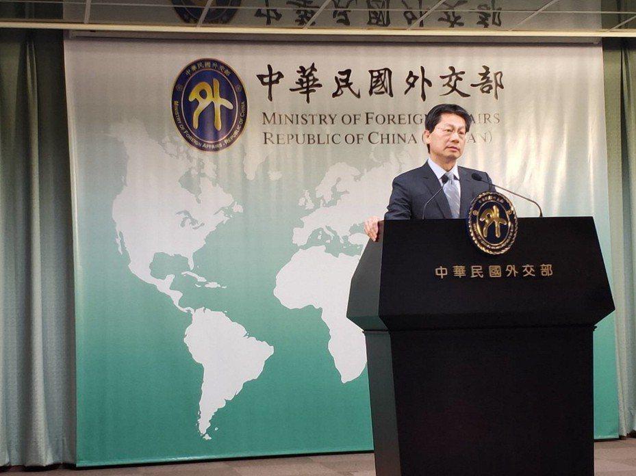 外交部發言人李憲章將接任駐汶萊代表。 聯合報系資料照片/記者徐偉真攝影