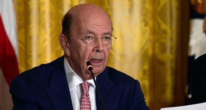 美國商務部長羅斯(Wilbur Ross)。美聯社