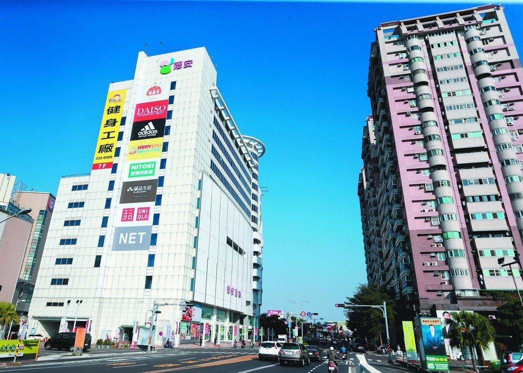 台南街景。聯合報系資料照