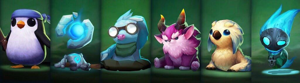 六種各具特色的聯盟精靈,將在遊戲裡成為玩家的化身,盡情耍可愛。