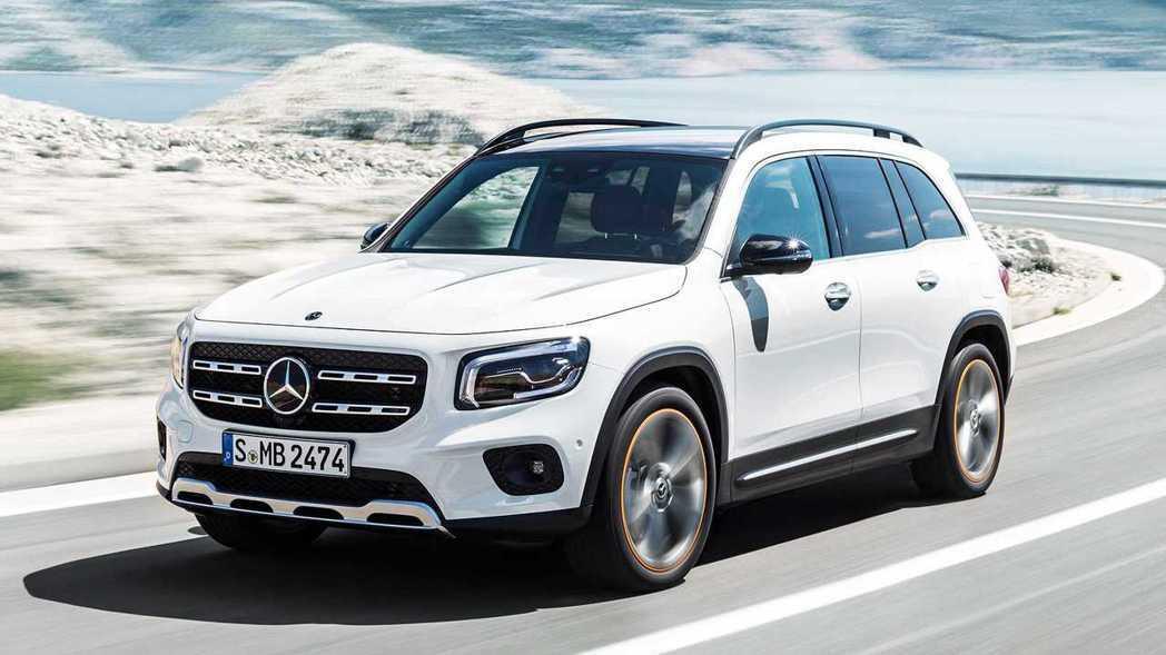 Mercedes-Benz GLB雖然是賓士小車軍團新成員,但受益於優異的軸距表...