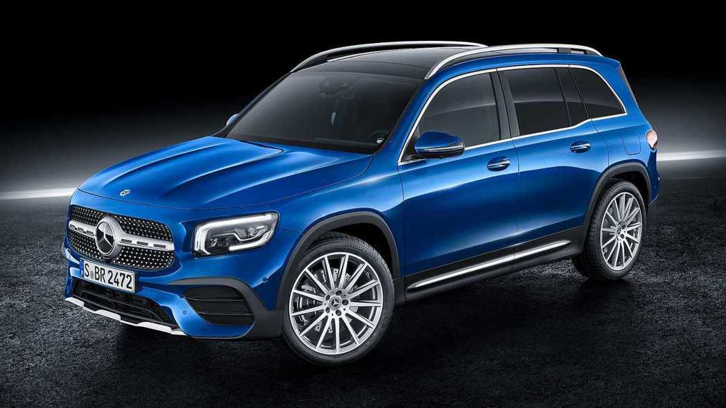 全新Mercedes-Benz GLB。 摘自Mercedes-Benz
