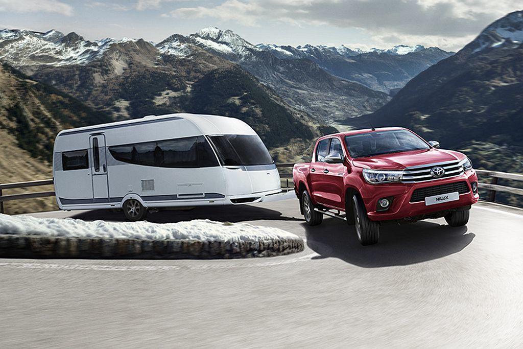 Toyota這輛全球非常熱銷的Hilux皮卡車,原廠日前公開新生產策略。 圖/T...