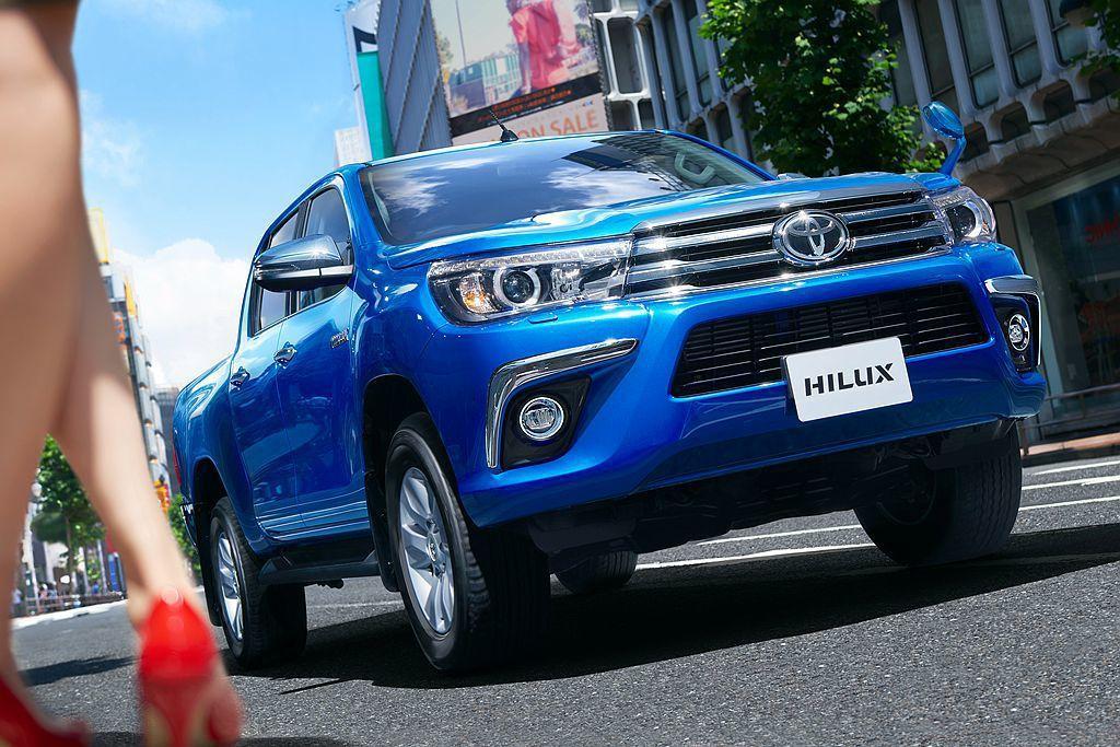 今年將導入臺灣的皮卡車Toyota Hilux,順應東南亞市場熱銷態勢將新增緬甸...