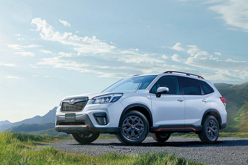 日本Subaru推出新年式Subaru Forester,增加兩種外觀車色可選之...