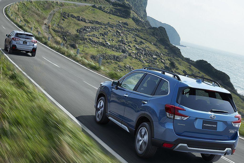 全新Subaru Forester接連獲得2018年日本JNCAP碰撞測試「AS...
