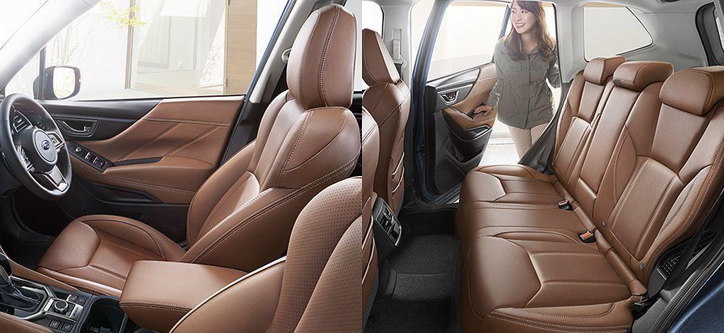 新年式日規Subaru Forester針對後座添加警示裝置,透過蜂鳴器聲響及儀...