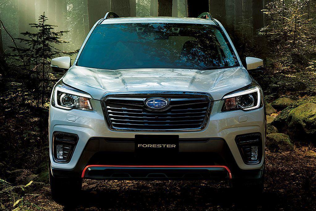安全再躍進!日規新年式Subaru Forester新增安全配備與車色